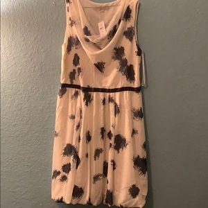 Loft draped neck size 14 dress